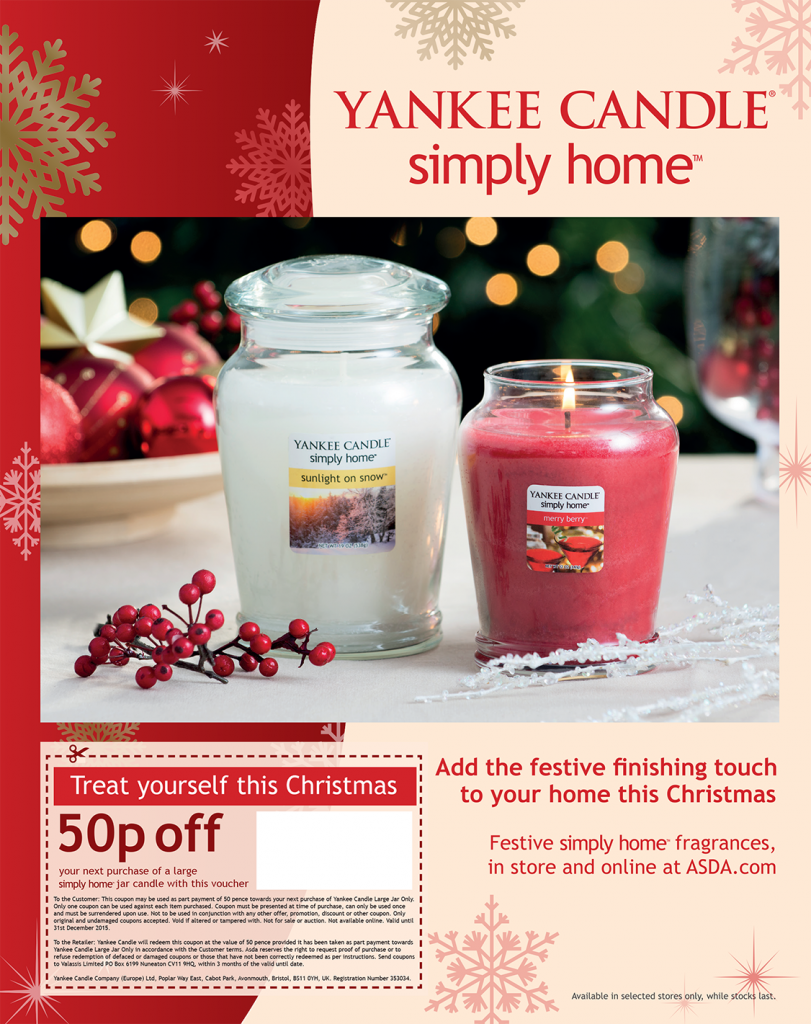 Former 'Simply Home' branding - advert page in ASDA magazine