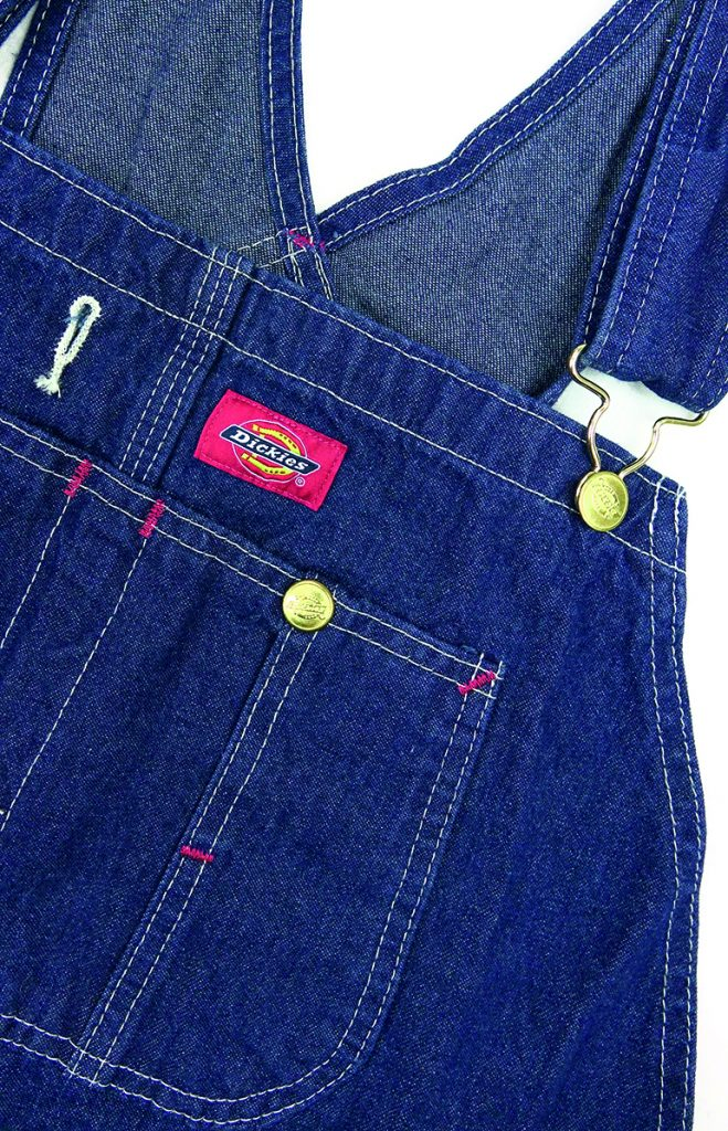 Dickies Denim Bib Detail