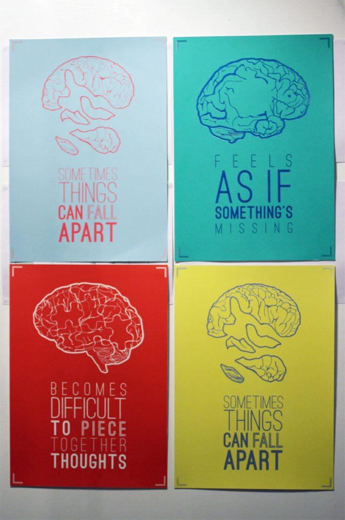 Series of screenprinted posters