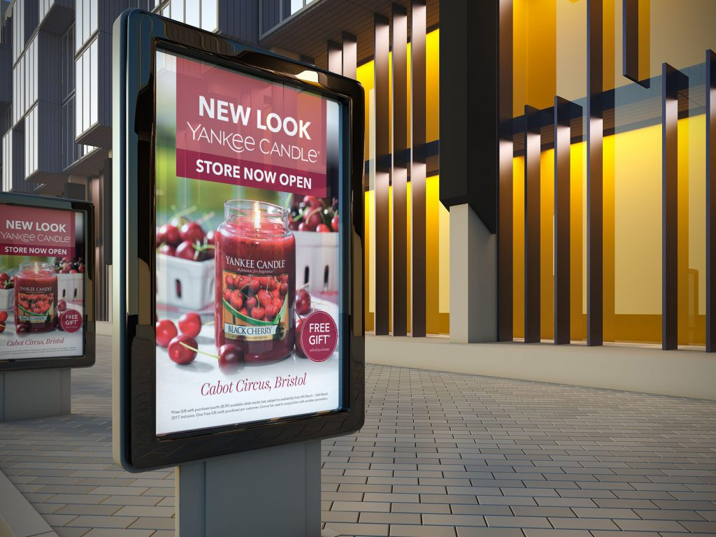 Launch campaign for the new look store in Cabot Circus shopping mall, Bristol