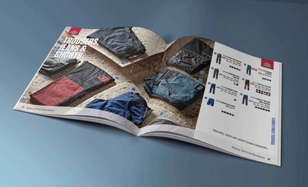 Dickies consumer facing catalogue