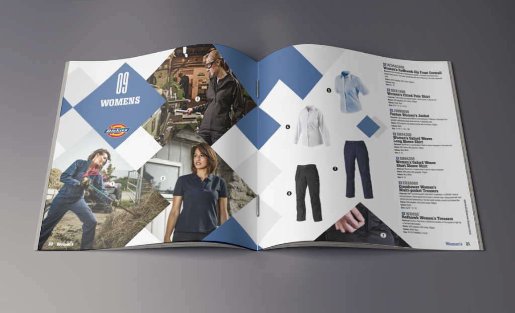 Dickies consumer facing 2018/19 catalogue