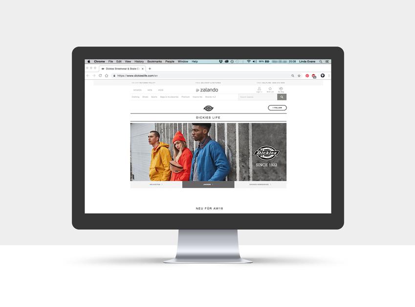 AW18 Zalando Webshop Page Banners