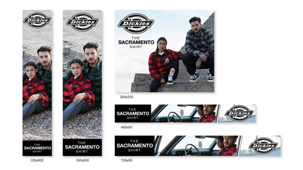 Sacramento Shirt Campaign 2018 - Banner ads